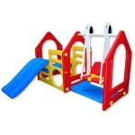 Spielhaus mit Rutsche_3