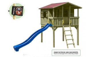 Spielhaus Holz Popup